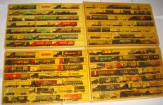 Collection - brewery trucks, advertising trucks, some vintage trucks and rarities, in collection boxes, 79 pieces