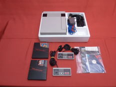 Nintendo 8 bit in original box, rare.