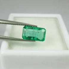 Emerald - 1.60 ct - No reserve price