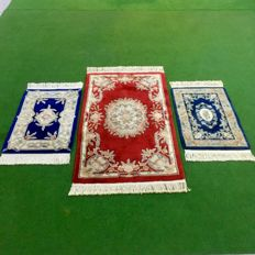 China carpet 3 piece set