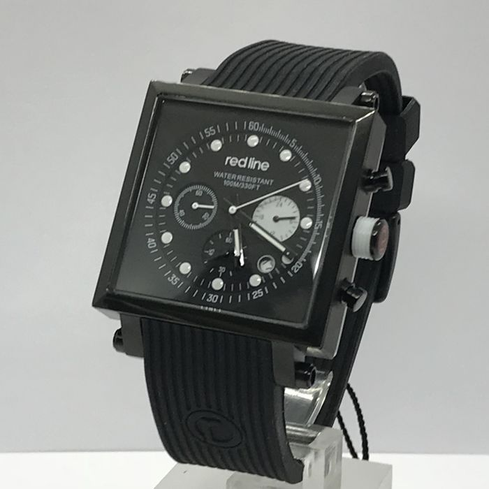 red line - Red Line Men's Compressor 2 Chronograph  - RL-50036-BB-01-WA - Heren - 2011-heden