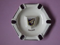 Leyland - Original hexagonal ashtray of Leyland Holland - 17.5 cm - Schoonhoven, Holland
