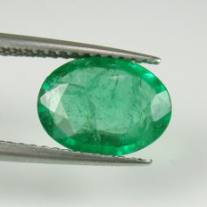 1.73 Ct - Emerald - Reserve Price No