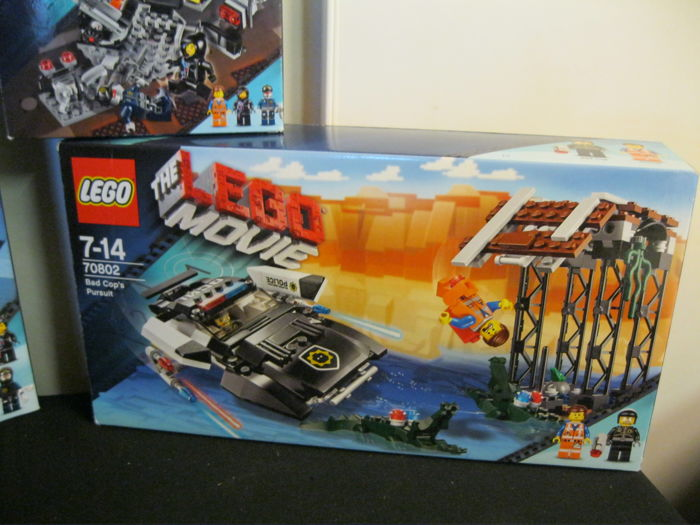 Lego Movie 70801 70802 70808 Super Cycle Chase The Catawiki