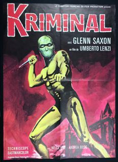 Kriminal - movie poster - French edition (1967)