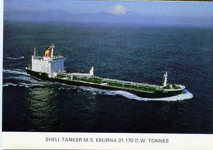 shipping SHELL TANKERS worldwide SHIPPING COMPANY/POSTCARDS