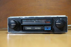 Autovox Melody MA753B classic Italian car radio with stereo-cassette player - 1974