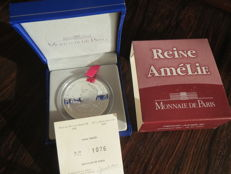 "France - €1.5 coin, 2006, ""Reine Amelie"", with slipcase - silver"