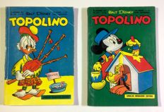 Topolino - 2 albums - issues nos. 102-103 - 1954