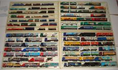 Collection - brewery trucks, advertising trucks, some vintage trucks and rarities, in collection boxes, 84 pieces