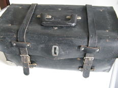 Nice used leather tool case