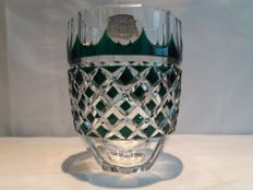 A signed and numbered vase - Val Saint Lambert - Belgium - 20th century