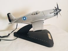 Special P51 Mustang airplane telephone