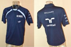 Williams F1 Team Clothing Set > Cooltex Shirt & Raceday Shirt by Puma (M) Team Only !!