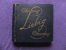 Album Chromos Liebig - 50 old series of 6 cards - Liebig edition in very good condition - from 1920 to 1928.