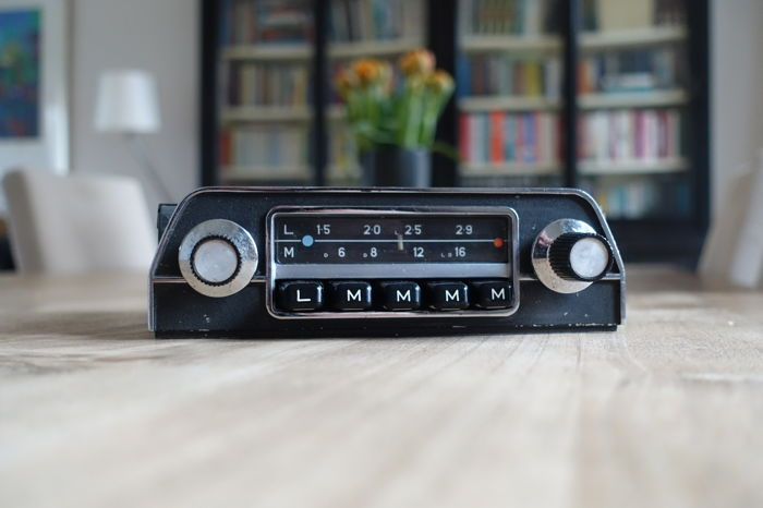 blaupunkt hamburg classic car radio 1969 catawiki. Black Bedroom Furniture Sets. Home Design Ideas