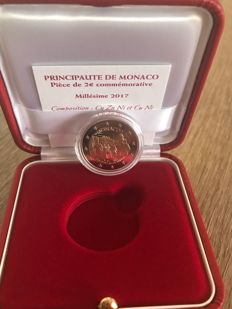 "Monaco – 2 Euro 2017 ""200th Anniversary of the Company of Carabiniers"""