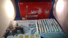 Wii Limited 25th Anniversary Mario Bros pack boxed with sports accessory pack and 10 extra games