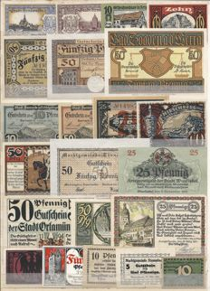 Germany - 200 emergency money notes 1916/1924