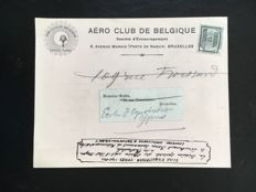 "Belgium - Theme collection postal memorabilia on aviation with ""Sabena"" covers and balloonpost"