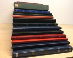 British Commonwealth - collection in 14 stock books