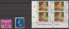 The Netherlands 1926/1990 - Selection plate defects - NVPH 171P, 336P, 1444P