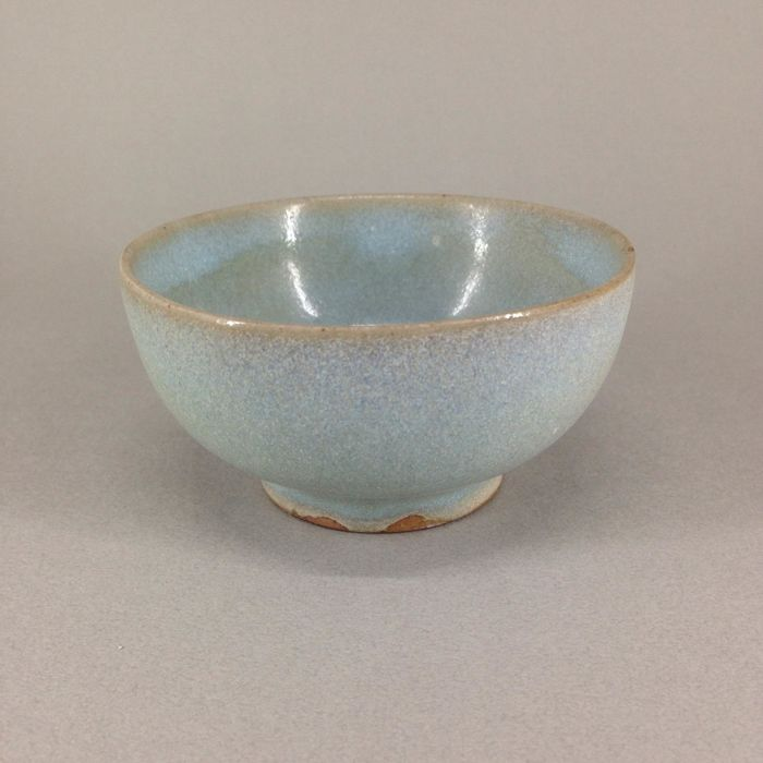 China Qing Dynasty 18th / Jun glazed porcelain