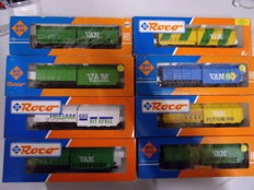 Roco H0-8 x VAM carriages