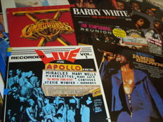 Super Soul! Selection of 15 Great LP Albums in Soul & Black Music: James Brown / Barry White / The Supremes / The Commodores / Lou Rawls / Three Degrees... And Many More!