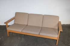 Soren Holst for Fredericia - three-seater sofa, model 2554