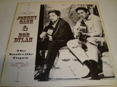 "LP Bob Dylan & Johnny Cash ""The Nashville Tapes""  The Greatest Singer Songwriters Together On One Album !"