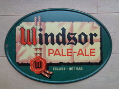 1947 Vintage Belgian beer Advertising sign WINDSOR Pale Ale Ecluse het Sas