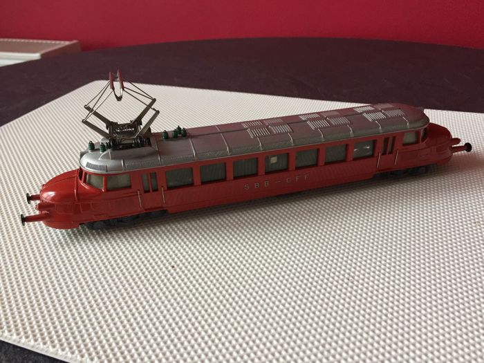 "HAG H0 - Electric locomotive - Rbe 2/4 ""Roter Pfeil"" - SBB-CFF"