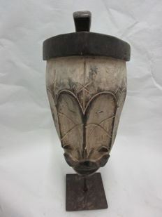 Mask with three faces - FANG - Gabon