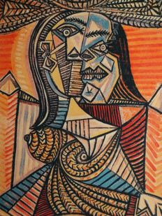 Pablo Picasso (after) - Woman with hat