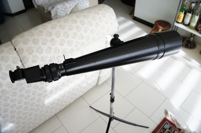 Russian 30/60x telescope with tripod + telescope - complete with cases