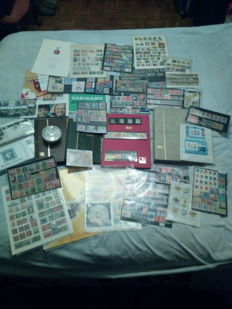 Worldwide classic to modern - accumulation of stamps, sheets and first day covers