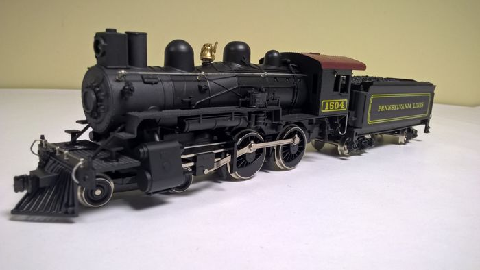 Mehano H0 - M801 PRR - Steam locomotive with separate
