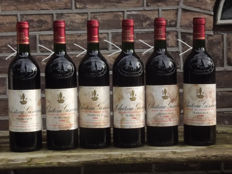 1988 Chateau Giscours, Grand Cru Classe Margaux - 6 bottles (75cl)