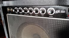 Washburn guitar amplifier SX 35 R - serial number 88080053 - Korea - 1994