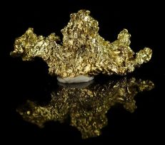 Genuine Gold Nugget hand picked with amazing shape - 0,3410 g - 1,705ct