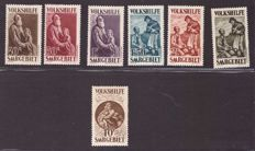 Germany Saargebiet 1928 - Charity series, mint ** Unificato 125/31