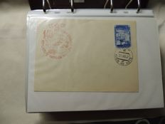 Russia - Envelopes with cancellations from Russia, Arctic and Antarctic shipping