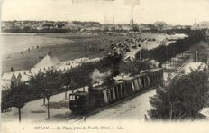 Railways France 85 X - Trains, Trams and Stations in various places - 1900/1940