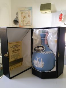 Glenfiddich 21 Years Old Pure Malt Scotch Whisky Wedgewood Decanter