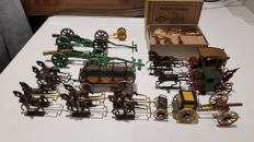Miniature carriages and mounted artillery sets – early 20th century
