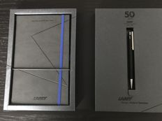 Lamy 1950s ballpoint pen and writing block Mint.