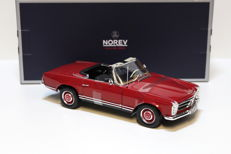 Norev - Scale 1/18 - Mercedes-Benz 280 SL (W113) convertible 1969 - Red
