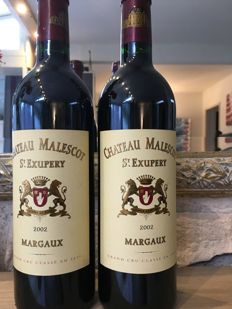 2002 Chateau Malescot-St-Exupery, Margaux - 2 bouteilles (75cl)