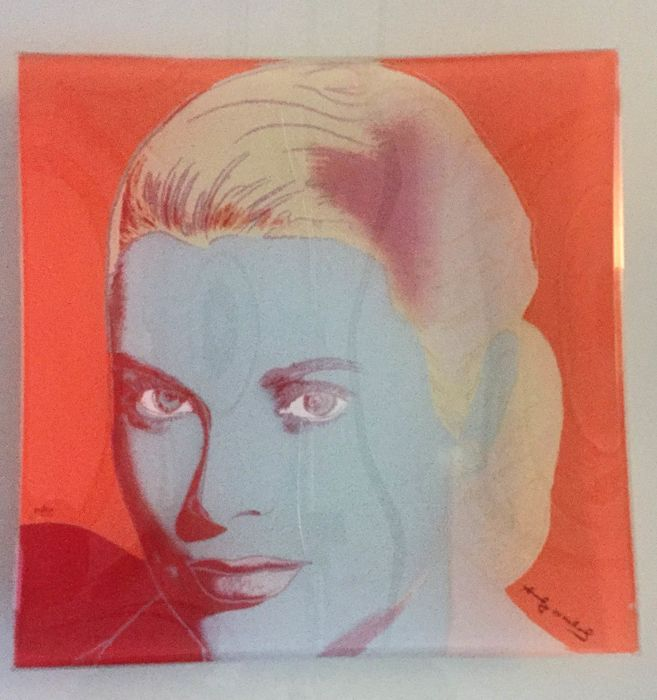 andy warhol by rosenthal twee plates grace kelly elvis presley catawiki. Black Bedroom Furniture Sets. Home Design Ideas